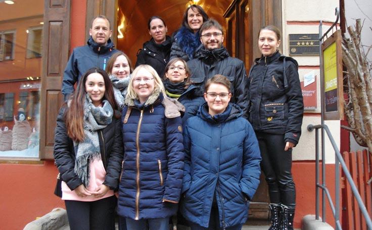 Mitarbeiterwochenende in Dinkelsbühl vom 30.11. bis 02.12.18.